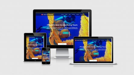 New Website For Local Dive Thailand
