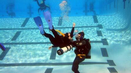 Rescue course PADi with Local Dive Thailand