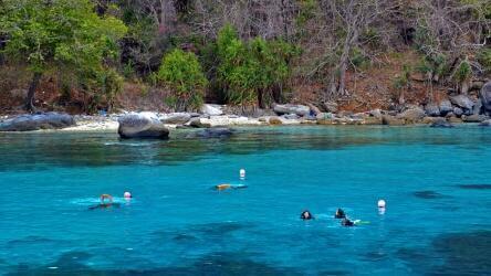 Discover Scuba Divers at Racha Noi Phuket, Thailand