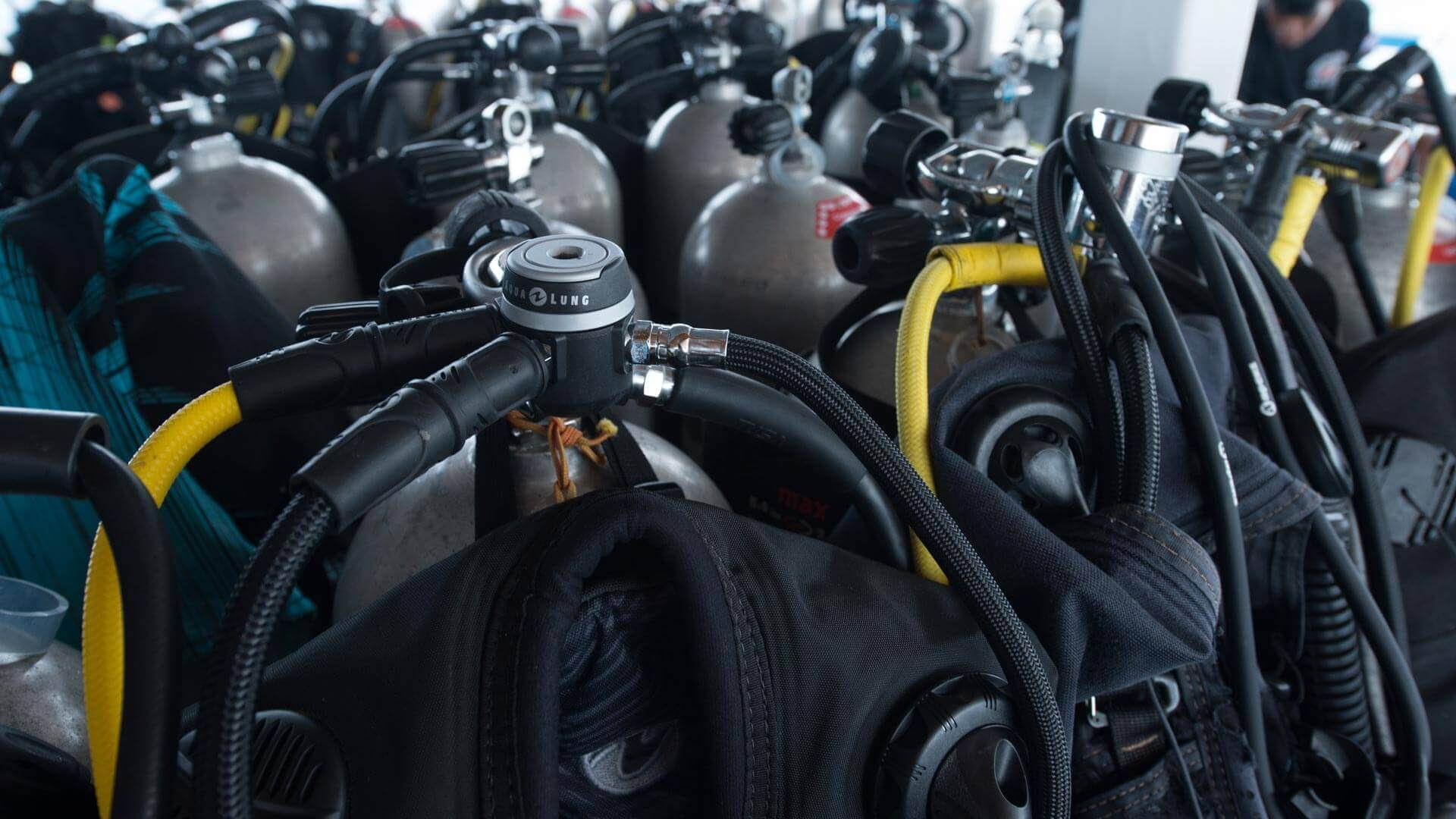Renting Scuba Diving Equipment