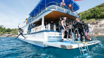 Scuba Diving Day Trip Tours on the M/V Kepsub - Local Dive Thailand