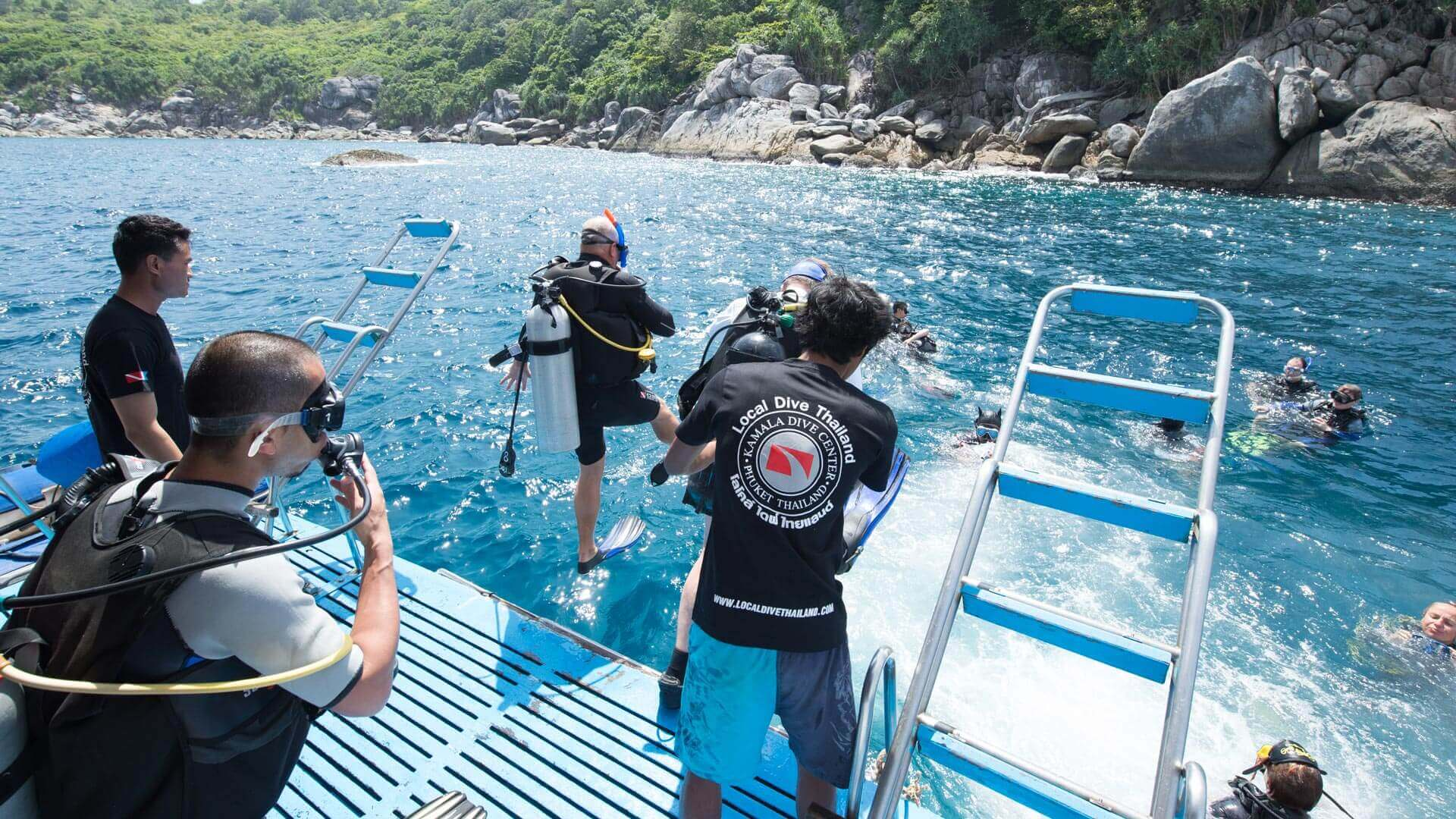 Fun Diving With Local Dive Thailand