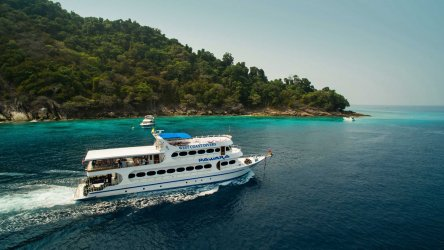 Thailand Liveaboard At The SImilan Islands