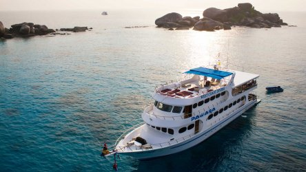 Thailand Liveaboard MV Pawara At The Similan Islands