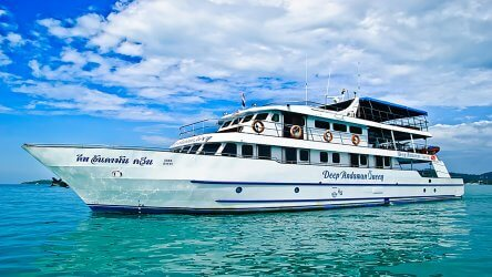 Thailand Liveaboard - Deep Andaman Queen