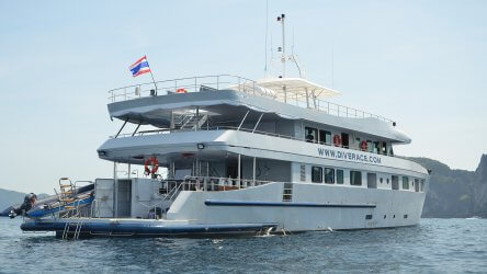 MV Dive Race Liveaboard Vessel In Thailand