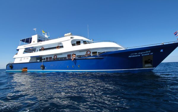 Manta Queen 3 Thailand Liveaboard Cruising