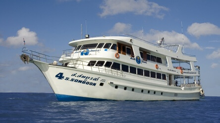 Somboon 4 Liveaboard in Thailand