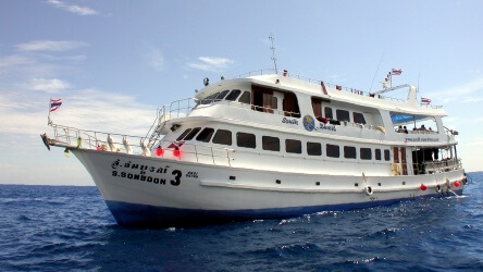 Somboon 3, A very Convenient Thailand Liveaboard