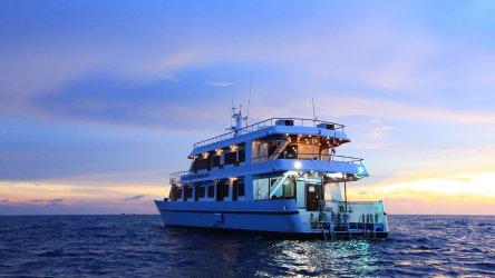 Thailand Liveaboard MV Hallelujah At Sunset