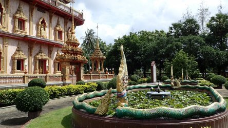 Take A Break From Diving and Go to Wat Chalong Temple Phuket
