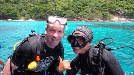 Happy Diver In Phuket