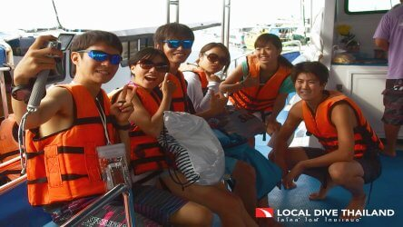 Charter A Whole Dive Boat In Phuket