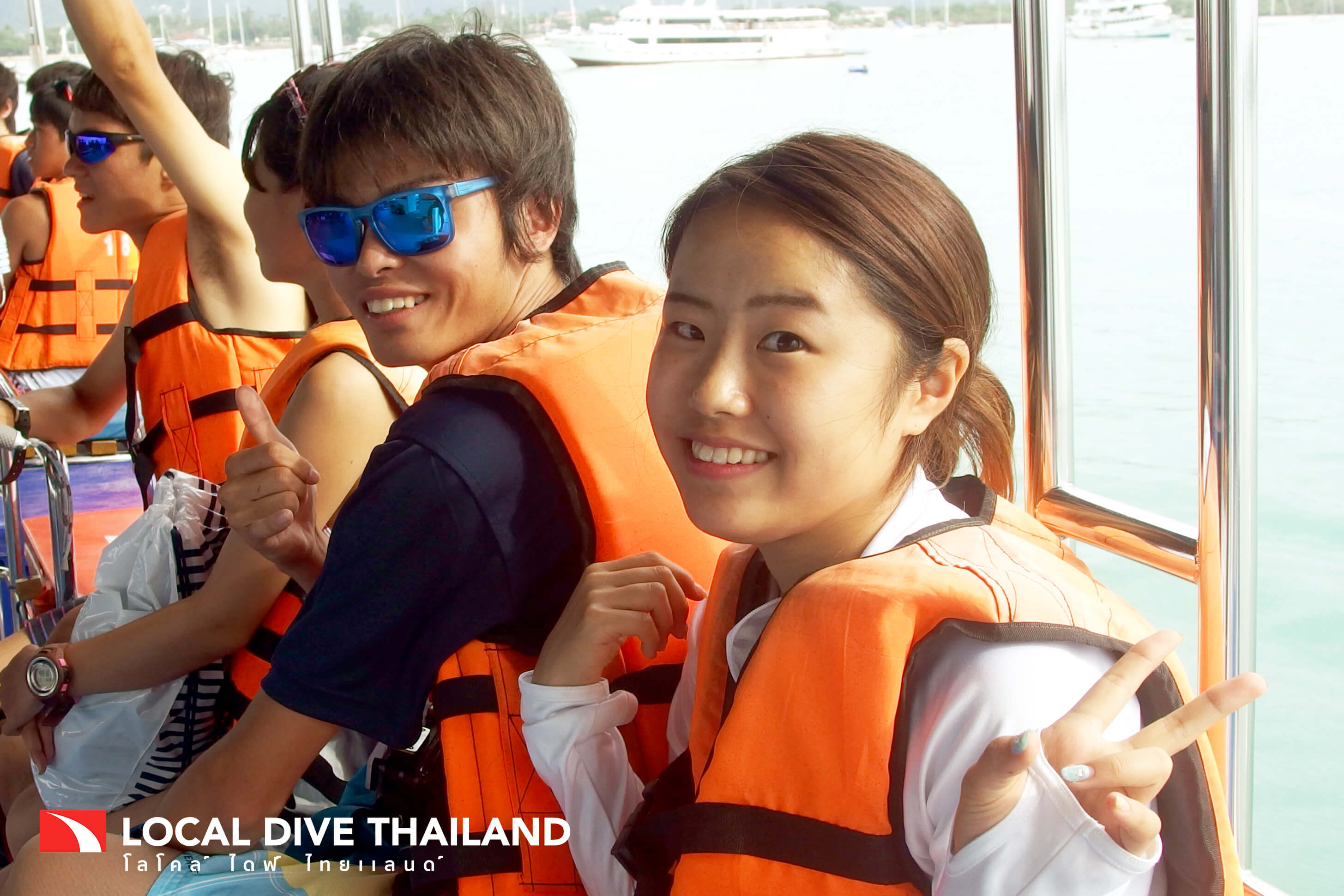 Happy Phuket Dive Customers