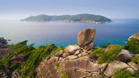 Stunning Views At The Similan Islands National Park