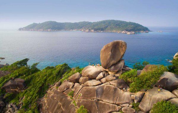 Stunning Views At The Similan Islands National Park