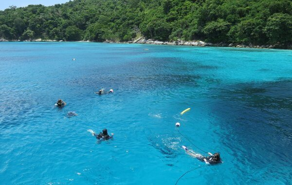 Great Weather For Phuket Scuba Diving