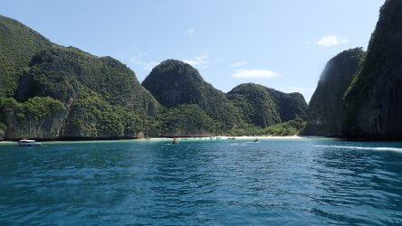Maya Bay - A Stunning Phuket Diving Backdrop