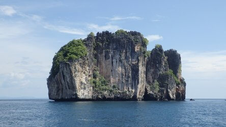 The West Side Of Koh Bida Nok At Phi Phi