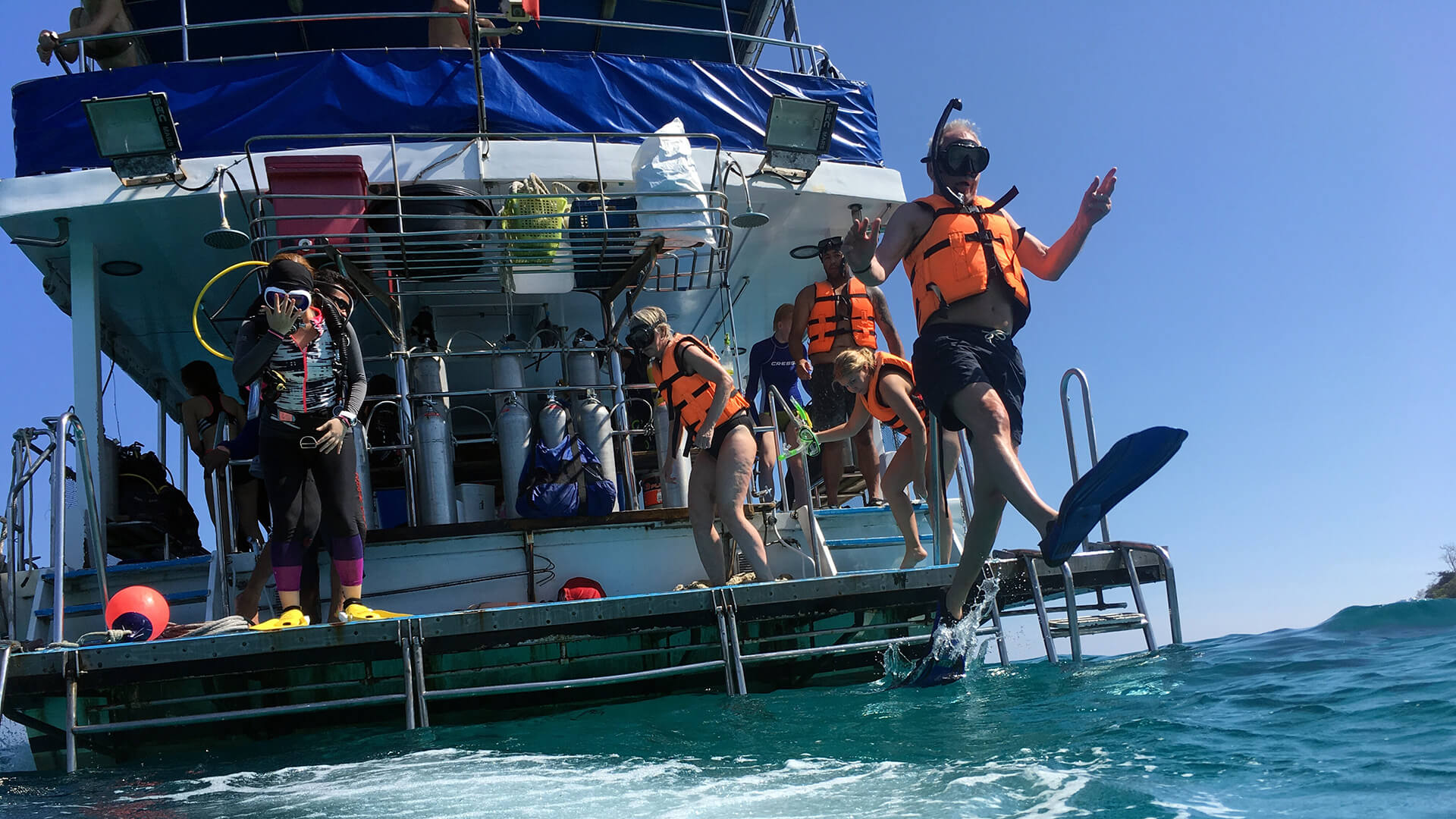 Diving And Snorkelling Are Easy Both Easy From Our Phuket Boats