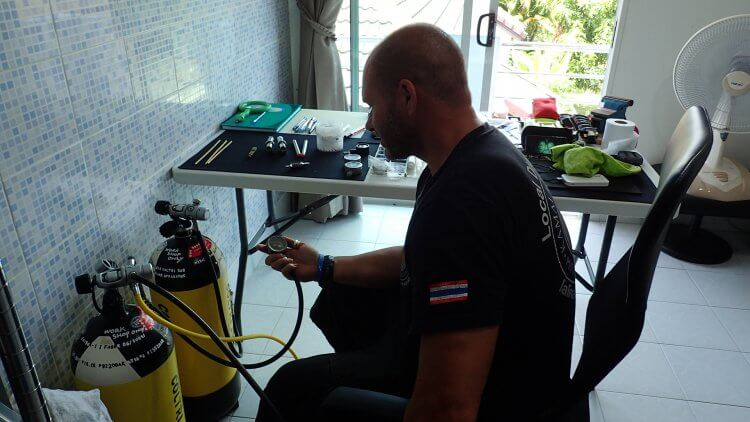 In House Phuket Scuba Diving Technician