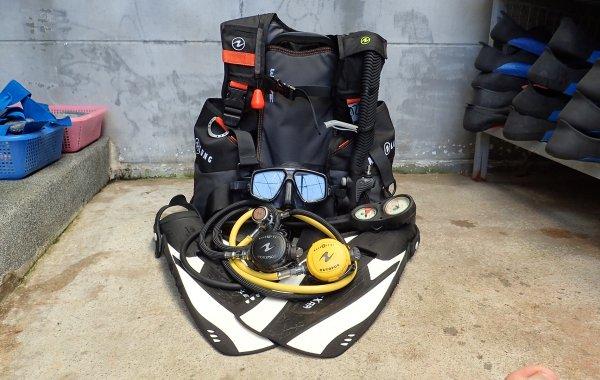 Phuket Diving Rental Equipment