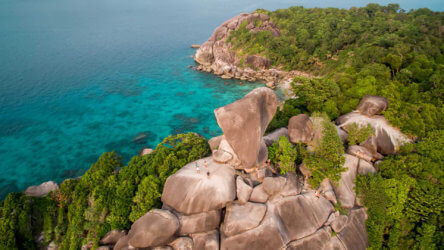 Similan Island Liveaboards Visit Stunning Scenery