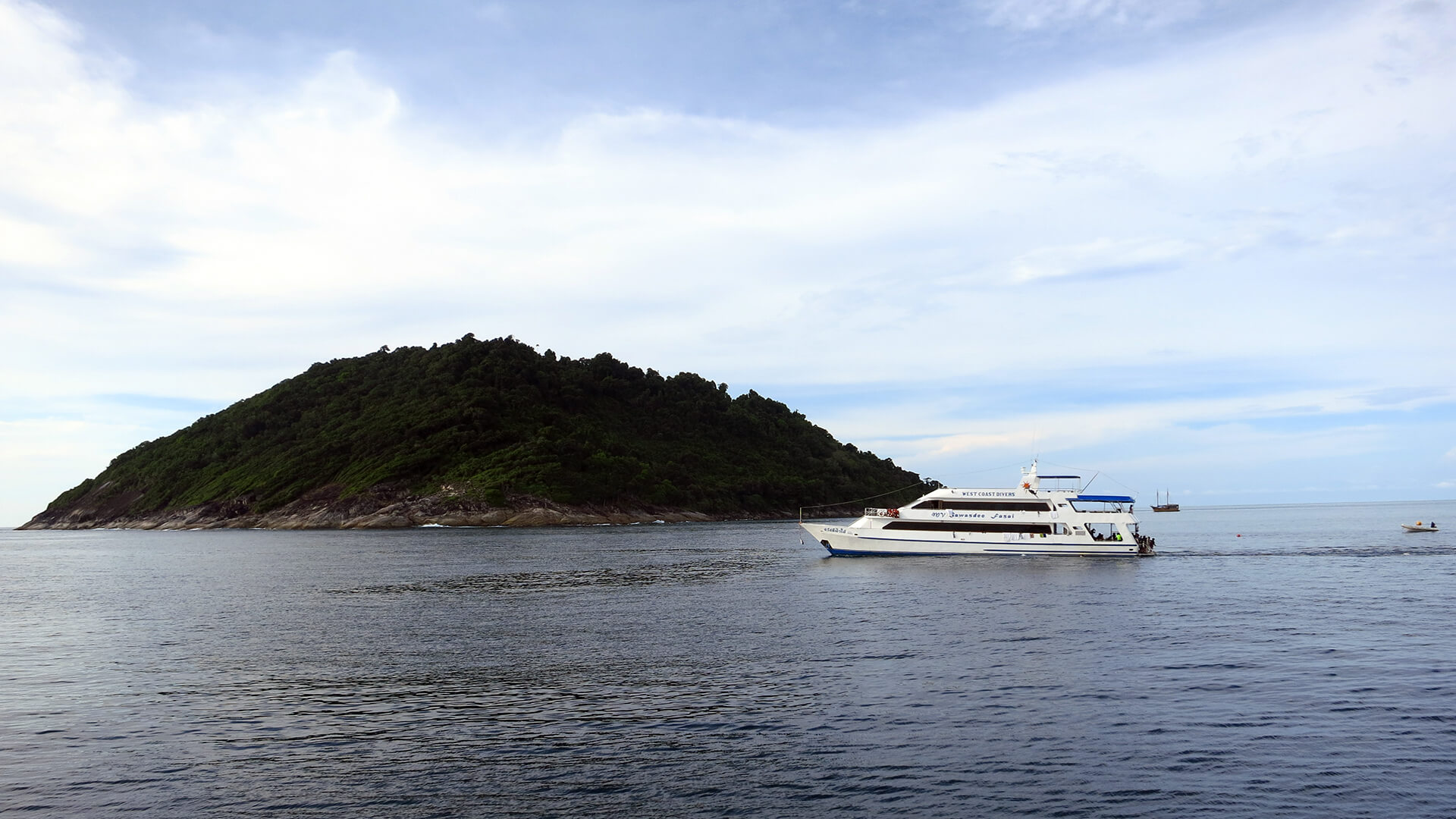 Koh Tachai Pinnacle