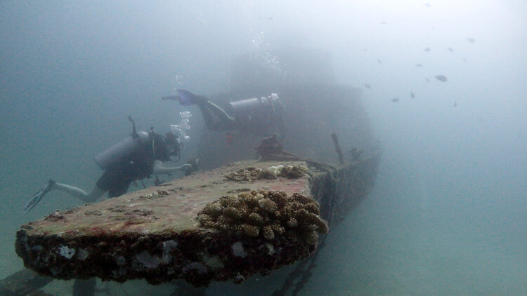 Wreck Is A Very Popular Adventure Dive