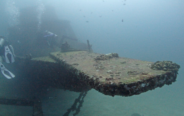Phuket Wreck Diving Has Many Options