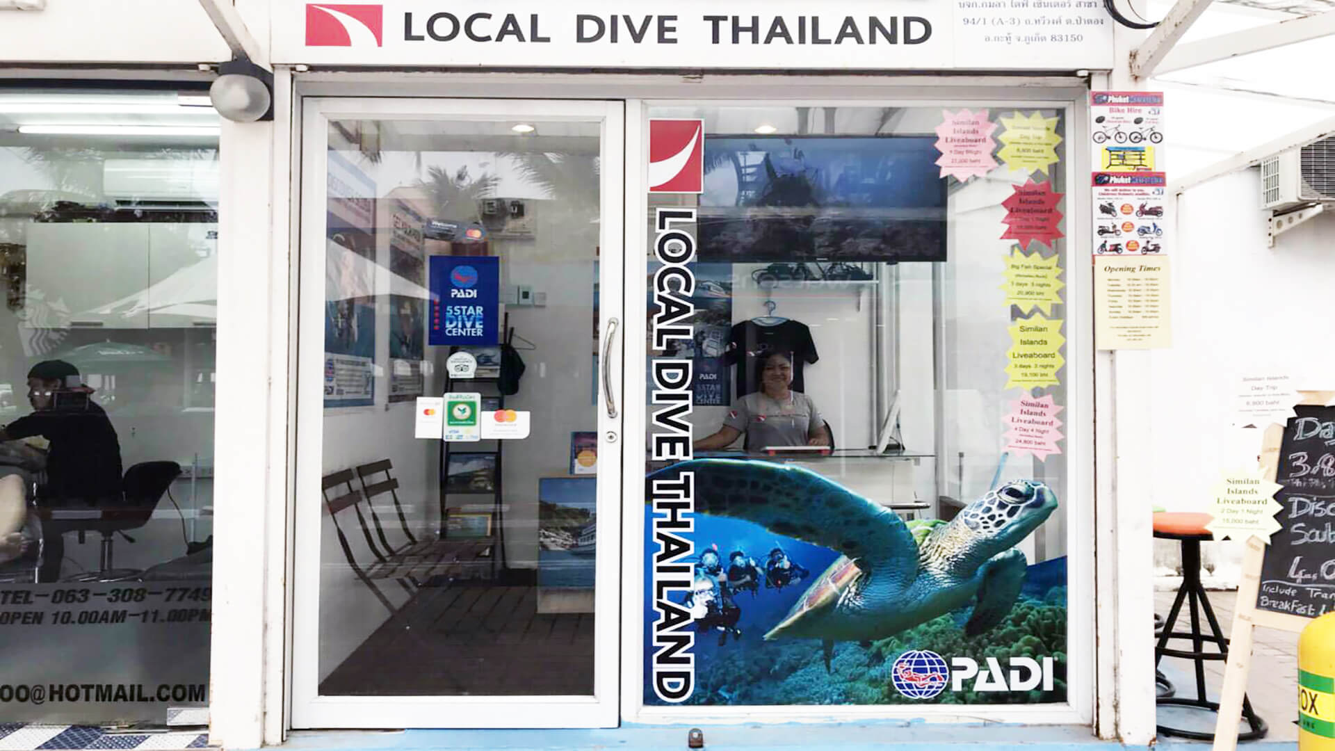 Local Dive Thailand Shop Now In Patong