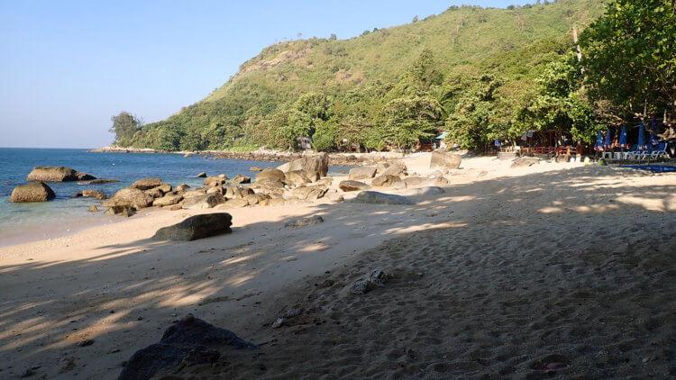 Ao Sane Beach Near Nai Harn