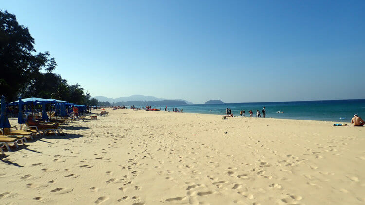 Karon Beach Stretches Off To The Distance