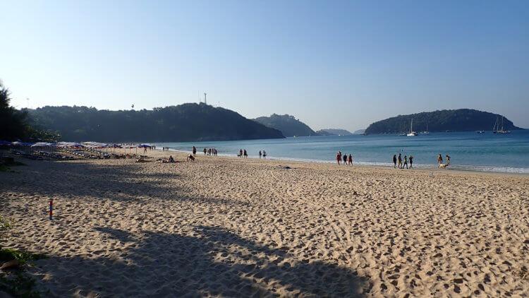 Beautiful Beach At Nai Harn