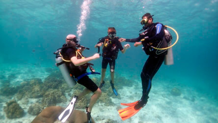 scuba diving for kids phuket