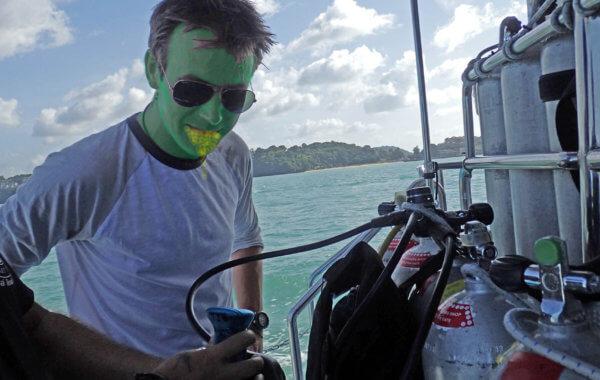 avoiding seasickness