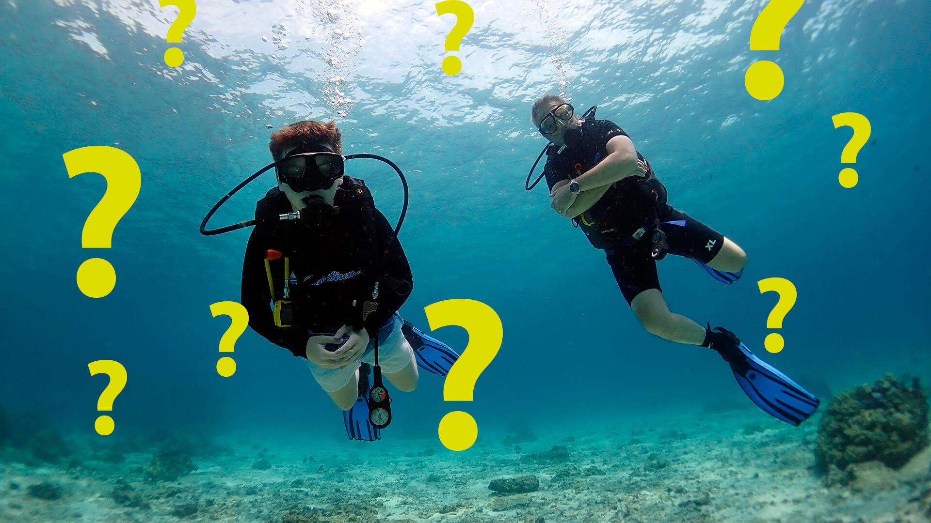 Phuket Diving FAQ's