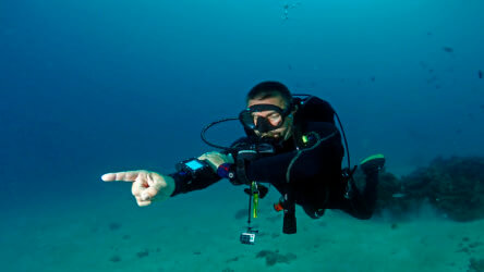 take the padi underwater navigation specialty in phuket