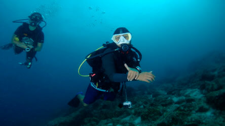 buoyancy control for new scuba divers