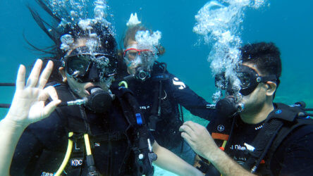 simple tips to reduce scuba diving air consumption