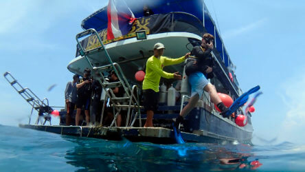 scuba diving is very safe
