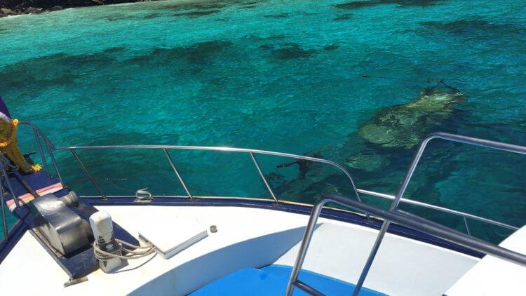 shallow wreck at racha noi phuket