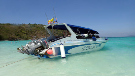 private speedboat diving in phuket