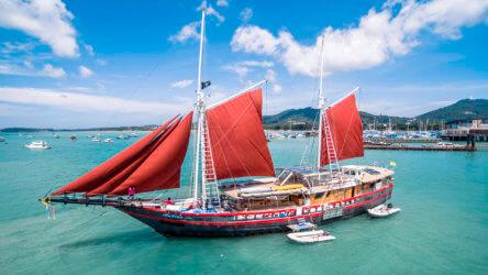 luxury similan island liveaboard the phinisi