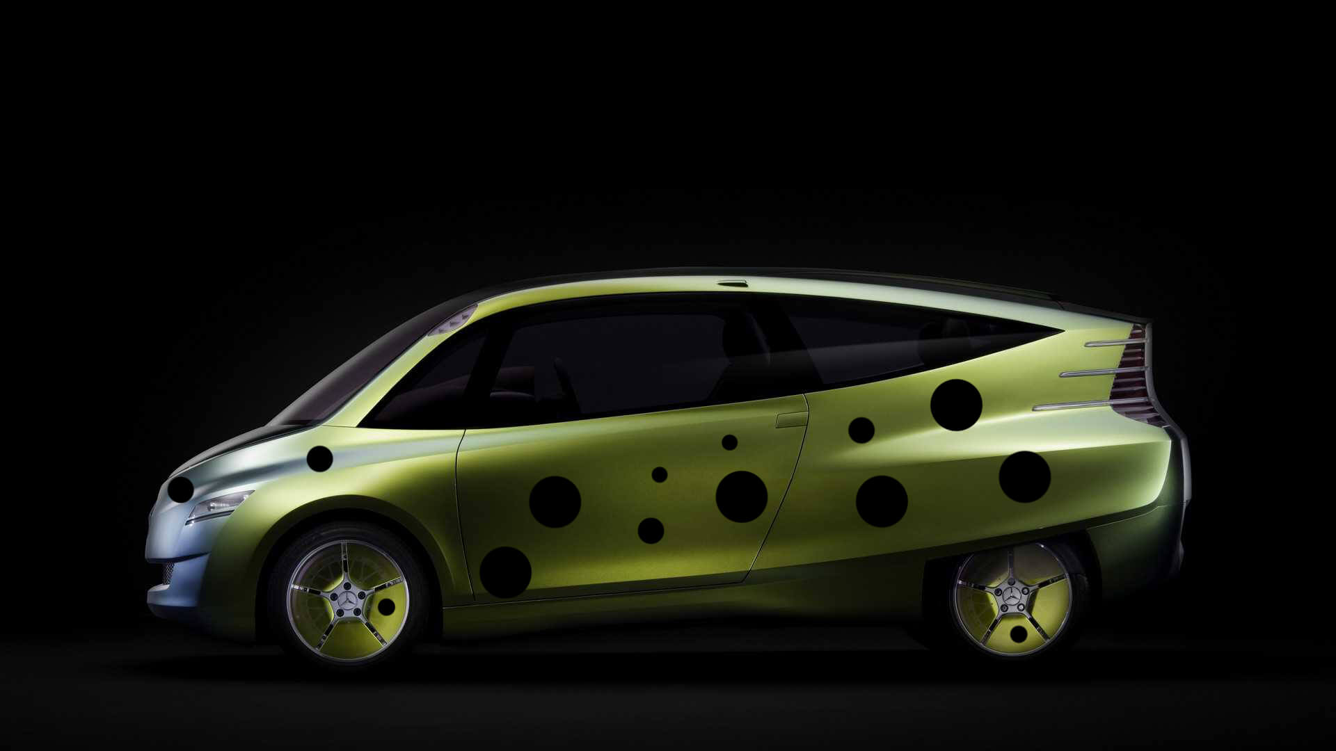 yellow boxfish inspired mercedes concept car