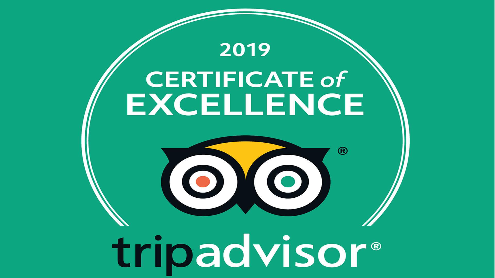 Phuket Diving TripAdvisor Certificate Of Excellence