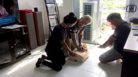 first aid training phuket