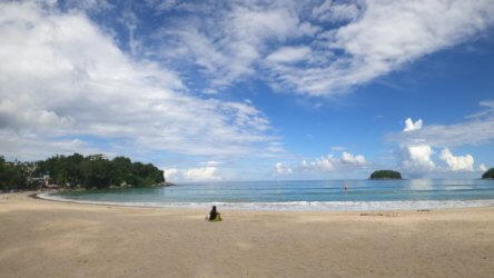 great time to be in phuket with deserted beaches
