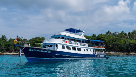 phuket diving boat mv kebsup