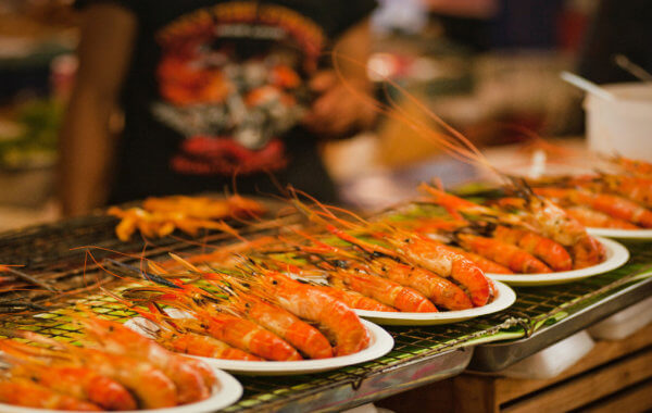 delicious food at the phuket seafood and gastronomy festival
